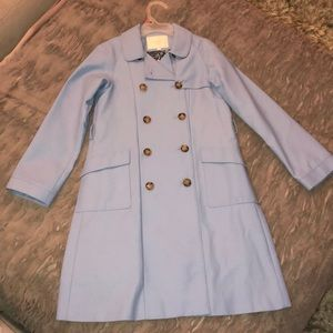 Gucci Kids size 8 blue trench coat